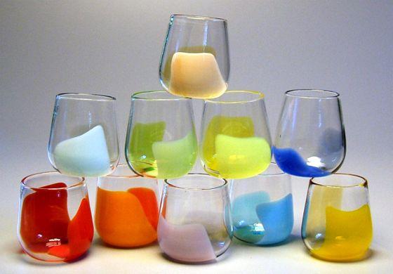 tumblers.: Glasses Tumblers, Tumblers Rothko, Colors, Vitrelux Rothko, Rothko Tumblers, Drinks, Products, Heart Healthy, Vitrelux Glassware
