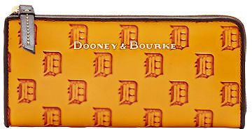 Dooney & Bourke MLB Tigers Clutch Wallet