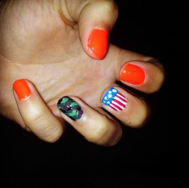 36 Best Cute Nail Ideas Images On Pinterest Camo Nails Camouflage