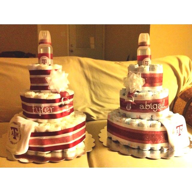 Aggie Baby Diaper Cakes