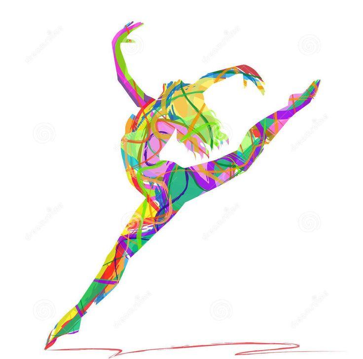 siluetas de bailarines de contemporaneo - Buscar con Google