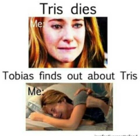So true, I knew she was going to die but I never expected it to happen the way it did