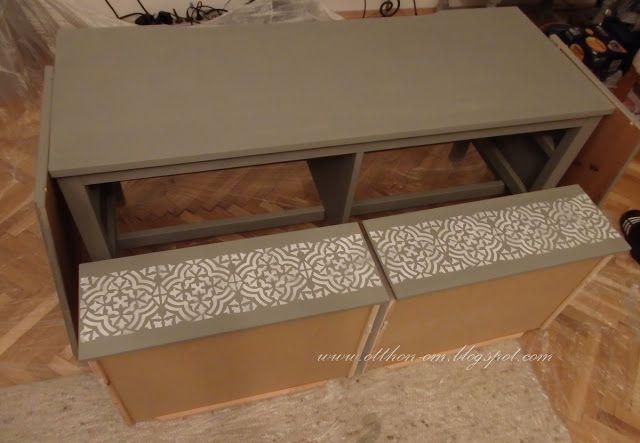 ÚJ ÉV - ÚJ OTTHON: IKEA Hemnes TV szekrény átalakulása