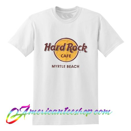 Hard Rock Cafe Myrtle Beach T Shirt