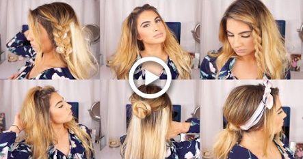 CUTE AND EASY HAIRSTYLES FOR THIN HAIR W/ EXTENSIONS –