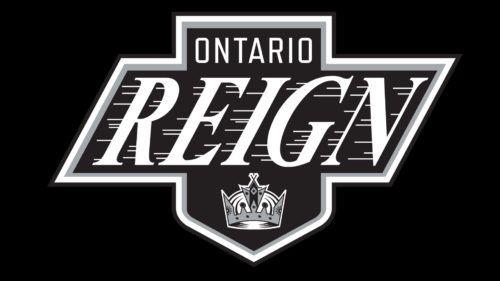 He Monochrome Palette Hockey Logos Ontario Reign Logos