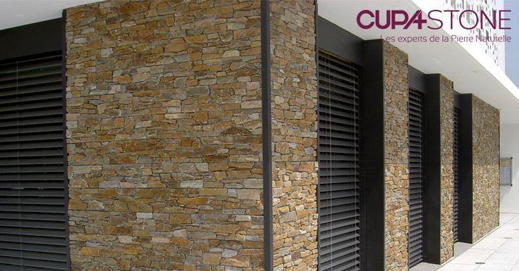 Des panneaux de pierre naturelle stonepanel sahara for Pierre parement facade exterieur