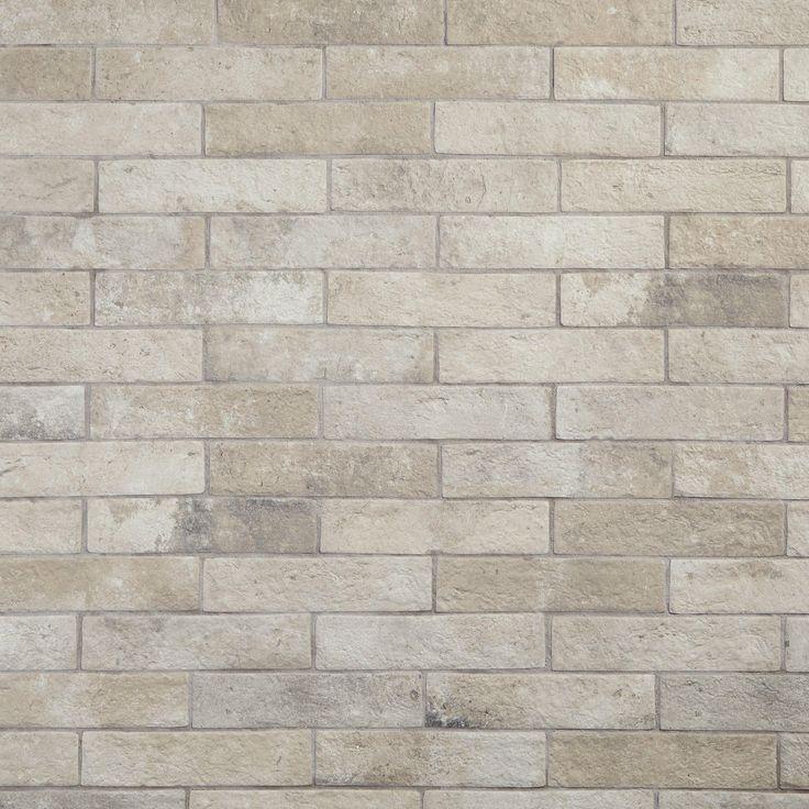 Alta Crema Brick Porcelain Tile In 2019 Products