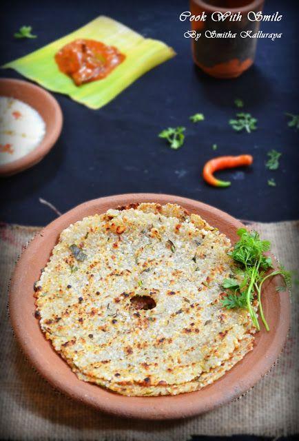SABUDANA THALIPEETH / SABAKKI ROTTI - SABUDANA RECIPES | Cook With Smile