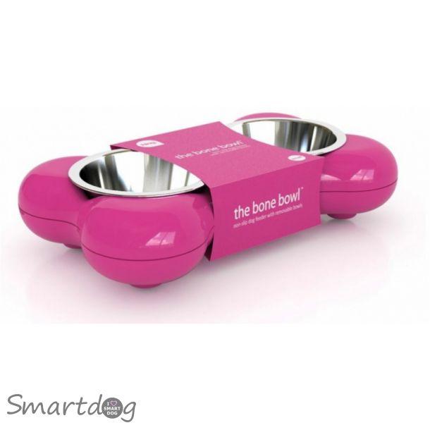Bone Bowl Designer foderbar - Pink