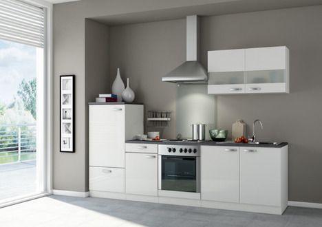 Küchenblock KOMPAKT LAGOS - leuk idee bovenkastjes