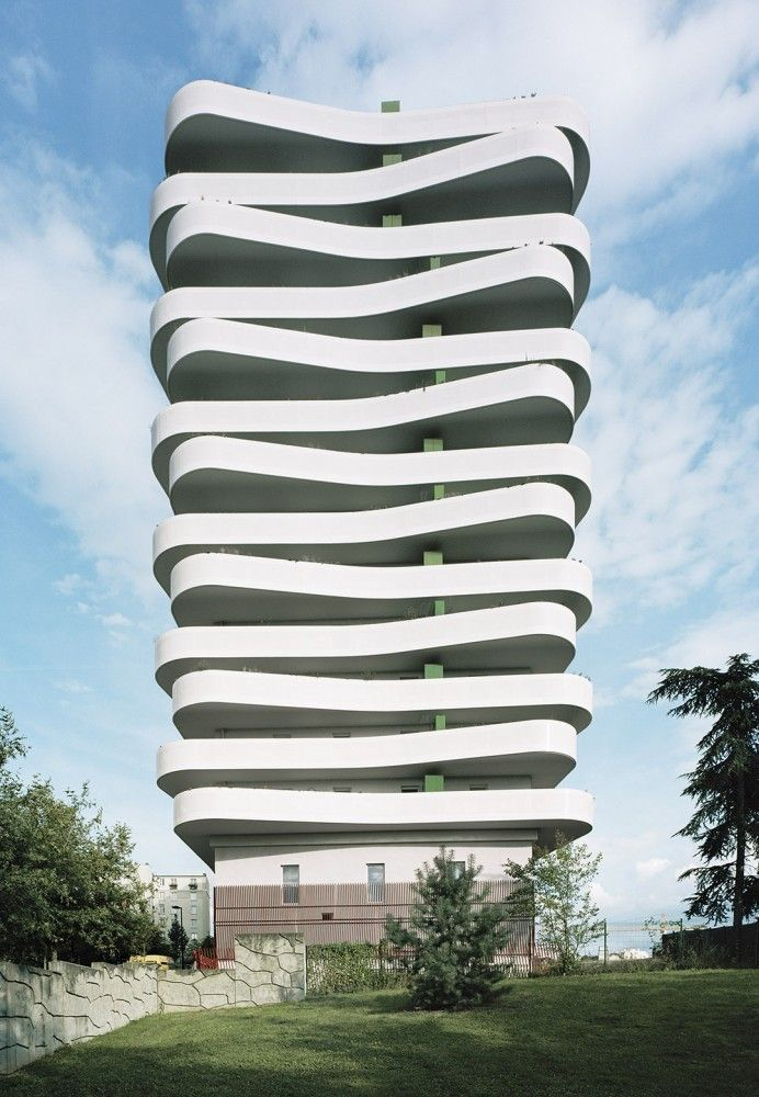 Arcueil ZAC du Coteau / ECDM [Future Architecture: http://futuristicnews.com/category/future-architecture/]