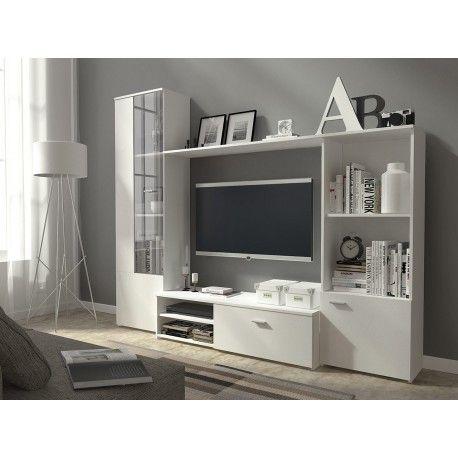 White furniture || białe meble || Latina || tylko tutaj http://www.mirjan24.pl/meble-sypialniane/1932-sypialnia-mexicano-a-5900101516583.html #white #livingroom
