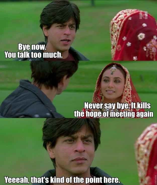 "An Accurate And Honest Summary Of ""Kabhi Alvida Naa Kehna"""