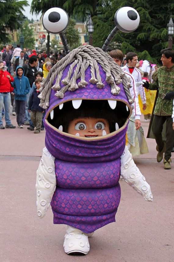 Boo Monsters Inc Costume by Gnuhloves on Etsy