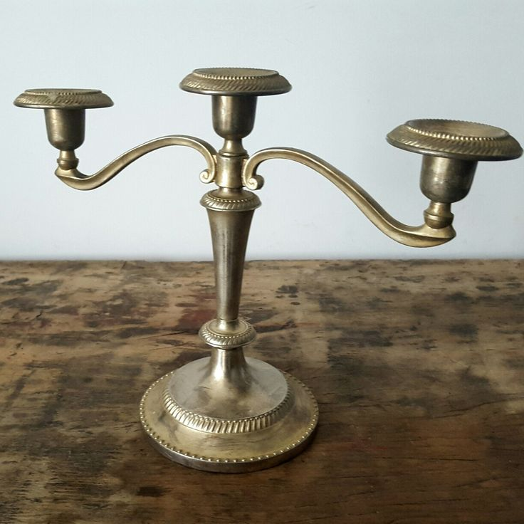 Stylish french candle holder,new addition to our vintage collection!