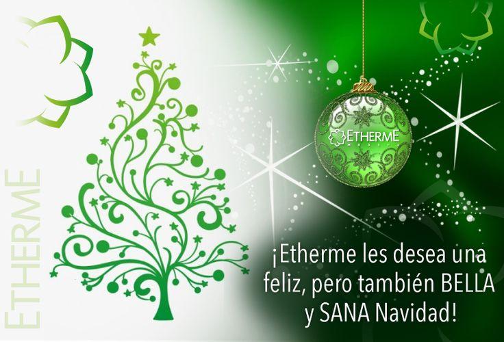 ¡Les deseamos una bella y sana Navidad!