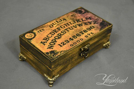 Spirit Board Jewellery Box Ouija