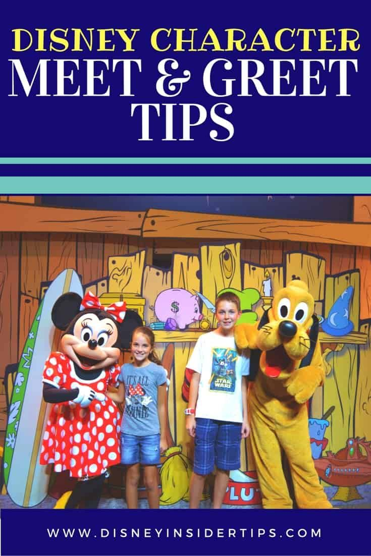 character meet and greet tips procedure