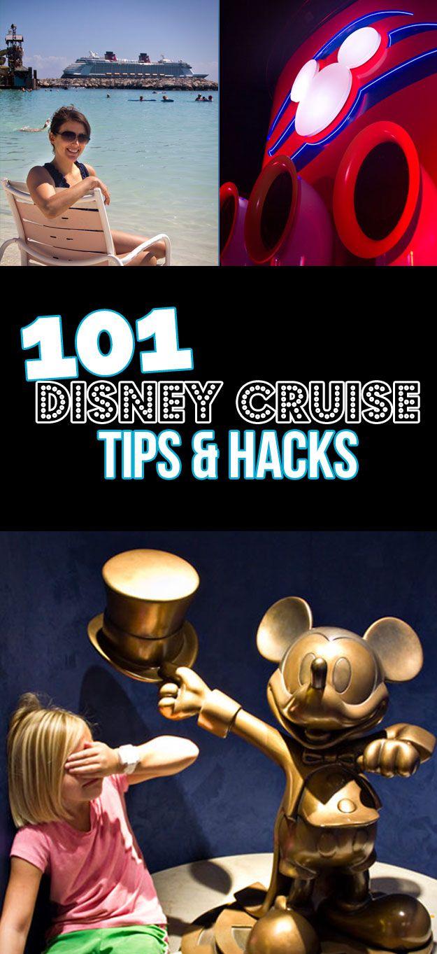 Wow...101 Magical Disney Cruise Tips!  Disney Cruise Advice  Disney Cruise Secrets