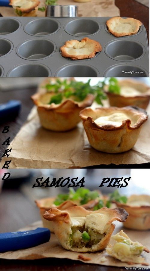 Samosas in a Pie's clothing, this disguise is definitely a blessing!