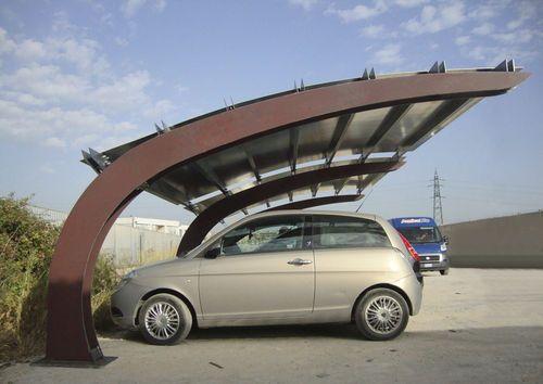 Steel carport / for professional use VELA by Gibillero design CITYSI srl