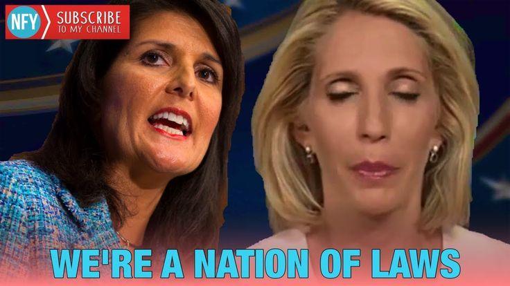 """We Are A Nation Of Laws"" - Nikki Haley Educates CNN Dana Bash On Illega..."