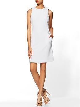 Textured Ponte Dress
