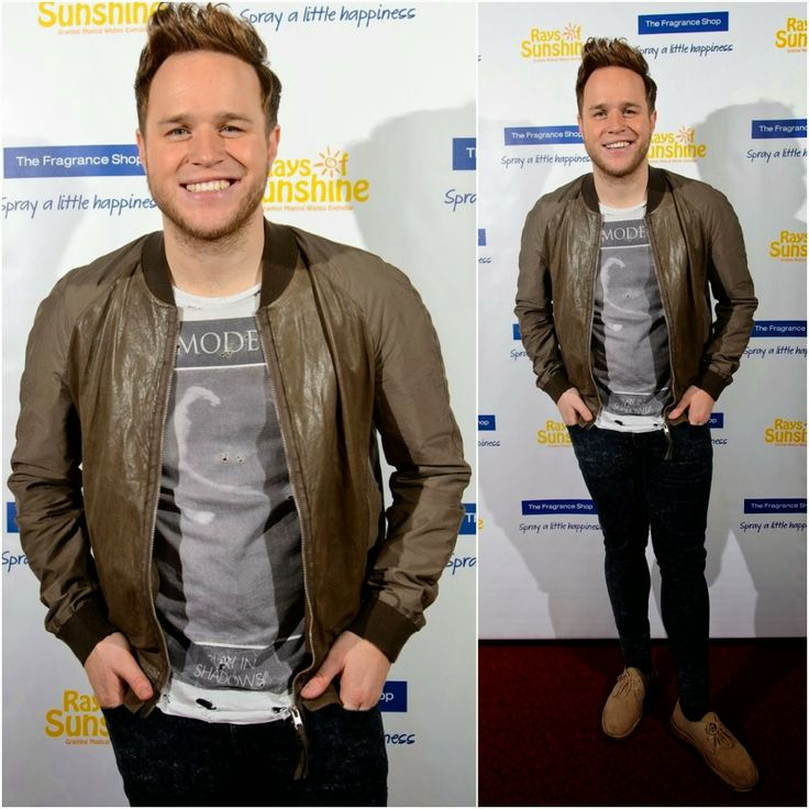 Olly Murs's All Saints 'White Mode' T-Shirt - 2014 Rays of Sunshine Concert Launch