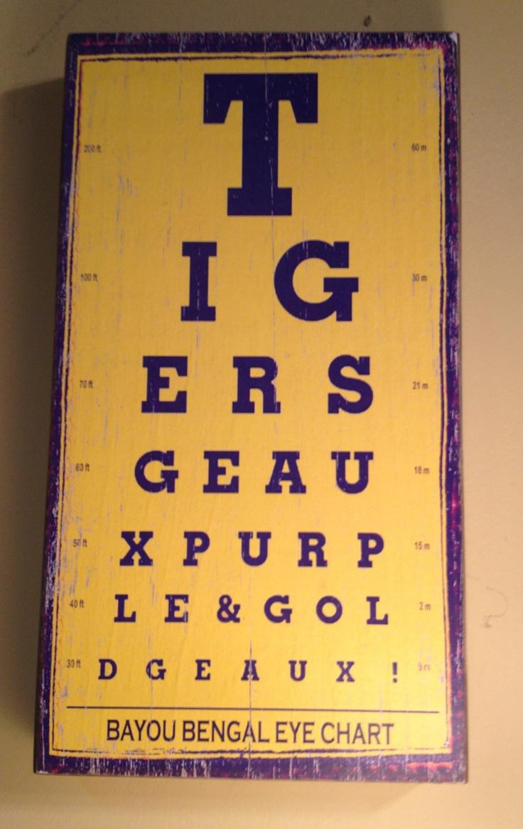 Bengal Eye Chart