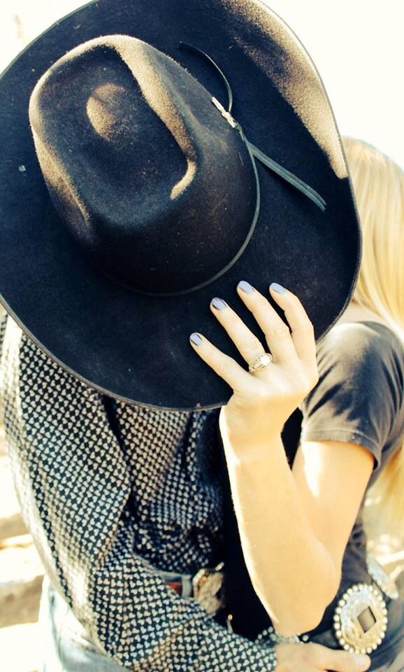 Country, Cowboy, Rodeo Engagement. SN