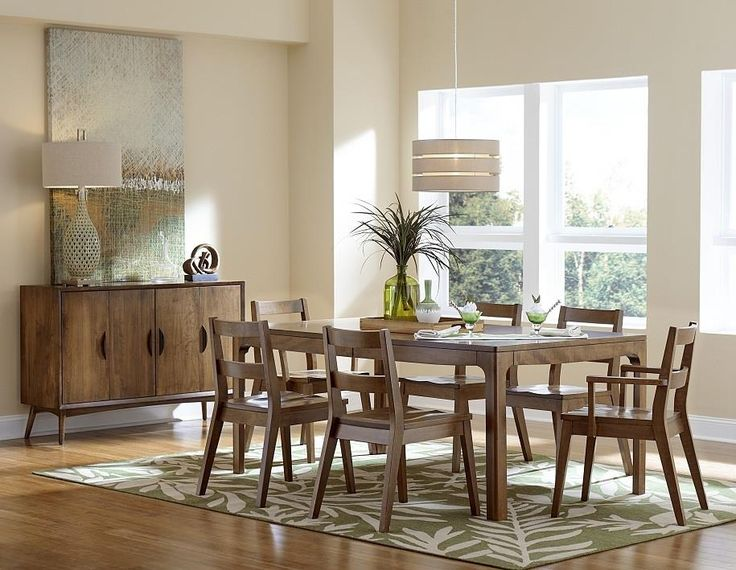 Shop The Look   Copenhagen Dining Set Cut With Precision To Make A Modern  Dining Room