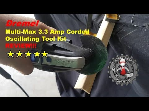 Dremel Multi-Max 3.3 Amp mm30 review and tutorial