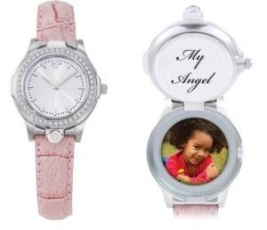 Celeb watch for women-pink wristband
