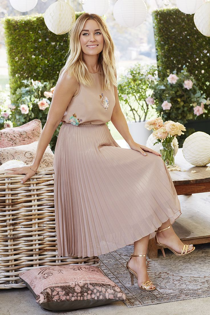 Lauren Conrad wearing the LC Lauren Conrad Dress Up Collection | Available only on Kohls.com