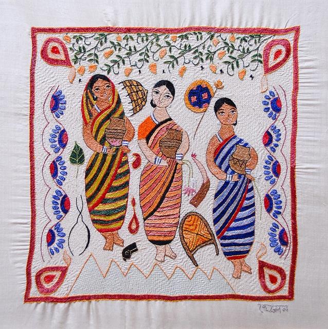 Surayia Rahman - kantha embroidery