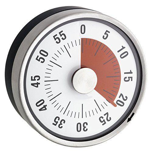 Minuteur Mécanique de Cuisine – Inox – Magnétique – Ø 8 X 3.2 cm: Price:8.97– Ce minuteur magnétique surveille votre cuisson avec précision…