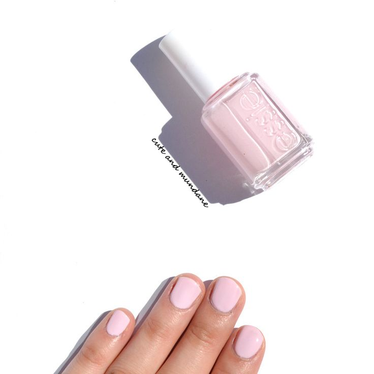 Cute and Mundane: Essie Minimalistic nail polish review + swatches