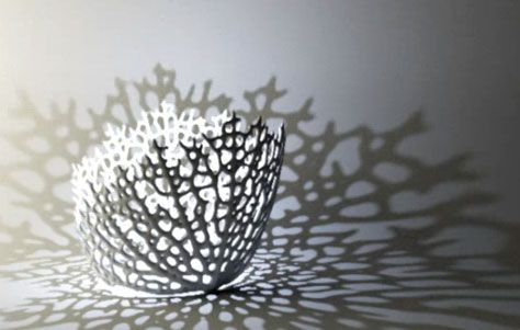 Algorithmically Generated Hyphae Lamps