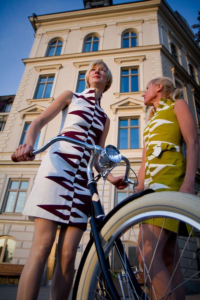 Prisma Patterned dress designer Maria Lovisa Dahlberg FREEMOVER 2013