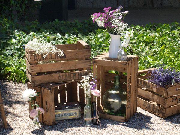 Decoración jardín.