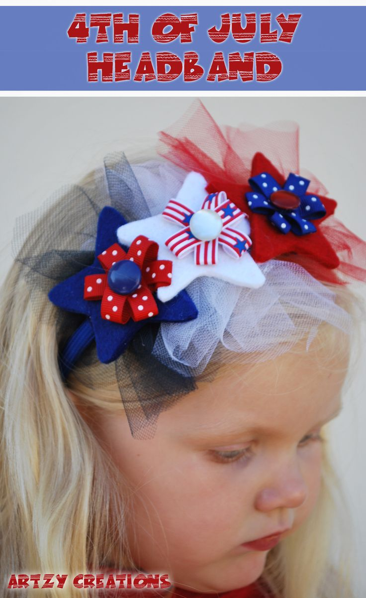 Fourth Of July Hairstyles 147 Best Images About Z Fourth Of July Bow On Pinterest