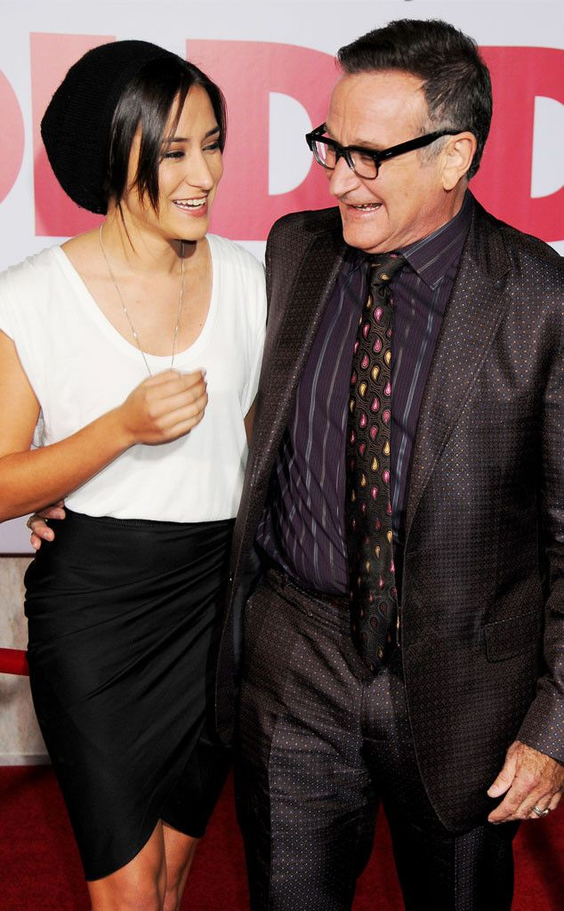 "Zelda Williams Mourns Her Dad Robin Williams: ""I Love You, I Miss You, I'll Try to Keep Looking Up""  Robin Williams, Zelda Williams"