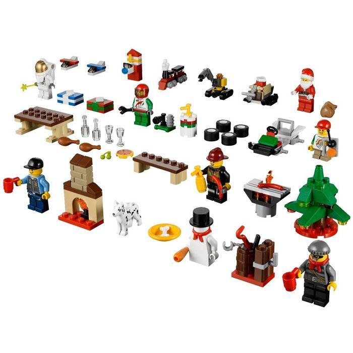 Lego City Advent Calendar Set 60024 1 Lego City Advent Calendar