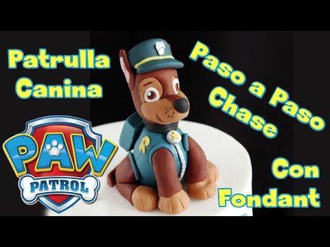 Chase Patrulla Canina, PAW PATROL de Fondant - YouTube