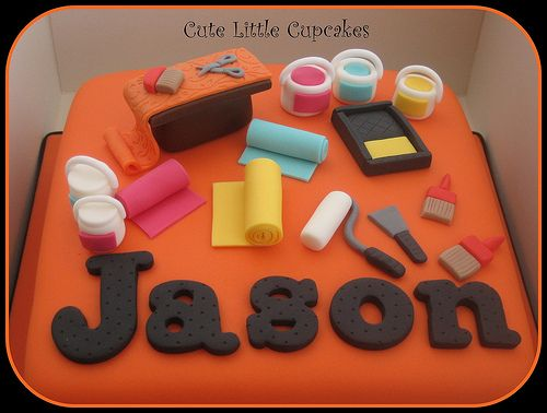 painter and decorator cake ideas | Painter & Decorator's Cake | Flickr - Photo Sharing!