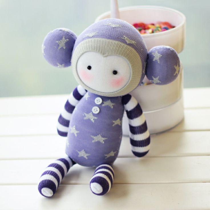 DIY sock doll kits