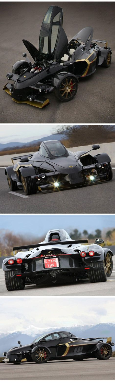 The Tramontana R is an evolved version of the standard open-wheel two-seater, packing a Mercedes-sourced 5.5-liter V12 available in either naturally aspirated, 550 hp guise or a twin-turbocharged 760 hp version that dolls out an astonishing 811 lb-ft of torque. The Group claims a 0-100 kph time of 3.6 seconds and a 10.15-second run to 200 kph.