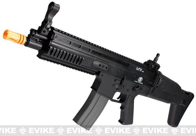 Classic Army FN Herstal Licensed SCAR-L Airsoft AEG Rifle (400 FPS) Black