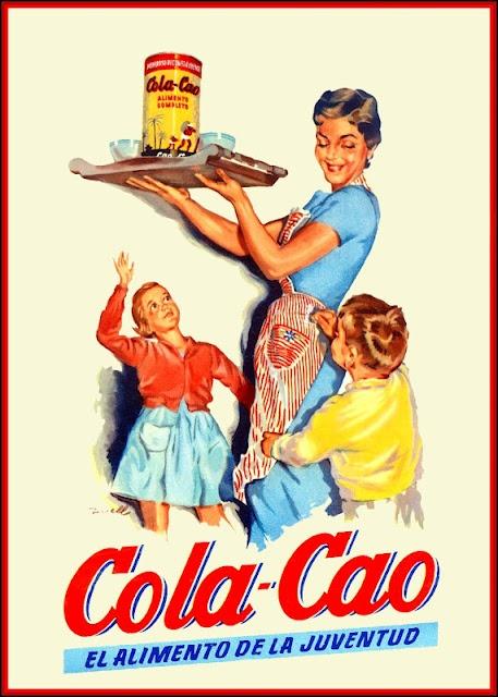 Cola-Cao advert- vintage 1960s-1970s